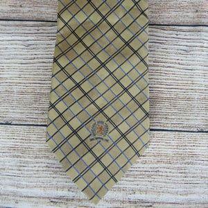 Tommy Hilfiger Men's Neck Tie Plaid 100% Silk